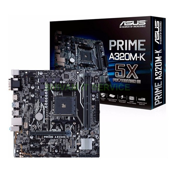 asus prime A320M K mother board 1
