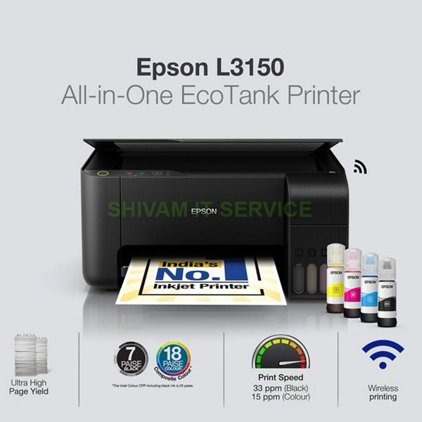 epson tank l3150 all in one printer 2