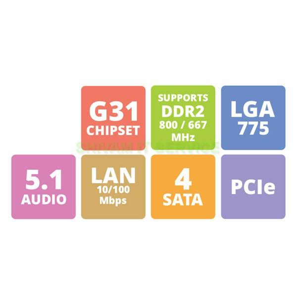 zebronics zeb g31 motherboard 4