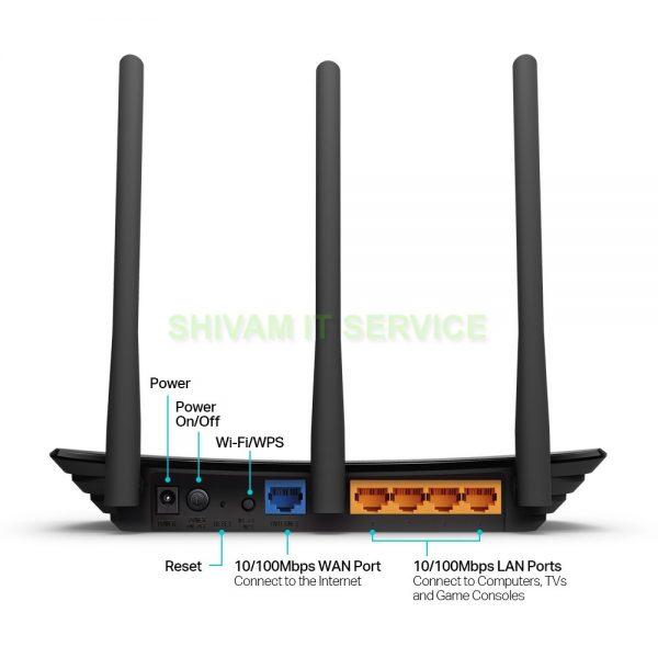TP Link TL-WR940N 450Mbps Wireless N Router