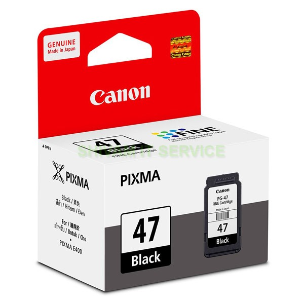 canon pixma pg 47 black cartridge