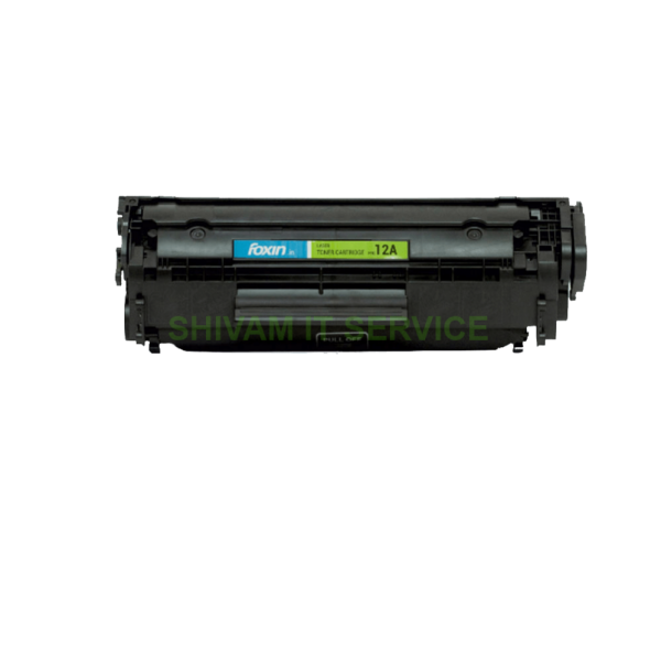 foxin ftc 12a toner cartridge compatible for hp canon laser jet series a