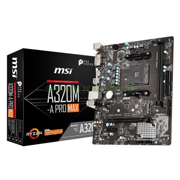 msi a320m a pro max 1