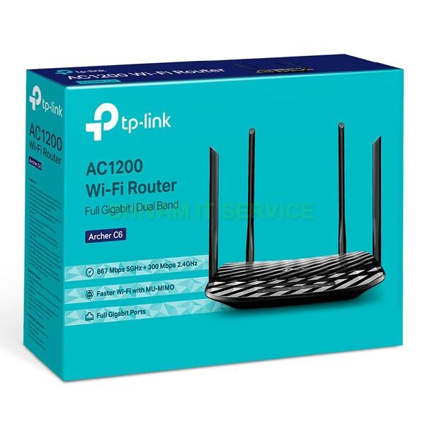 tplink ac1200 archer c6 wifi router 1