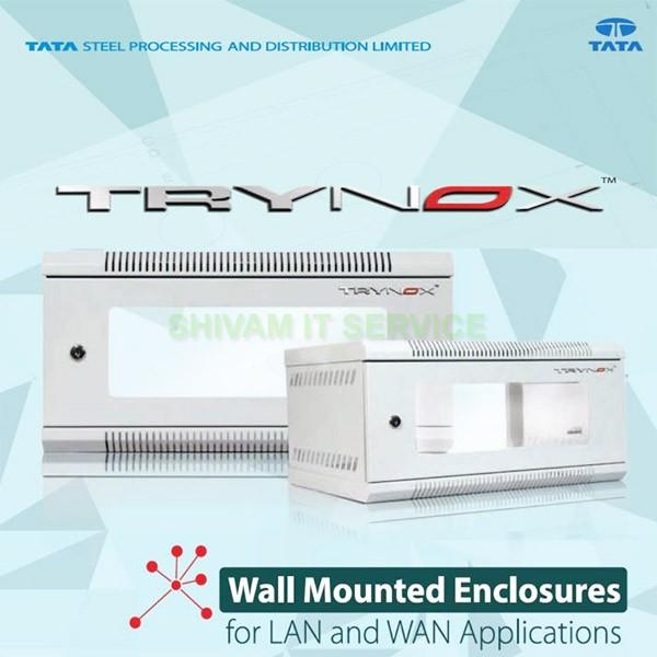 tata 4u wall mount networking rack 3
