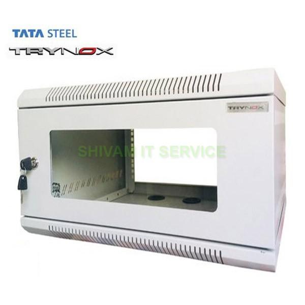TATA Trynox 6U/600X500 Wall Mount Networking/DVR Rack