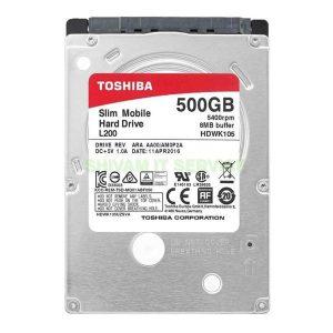 Toshiba 500GB Laptop HDD