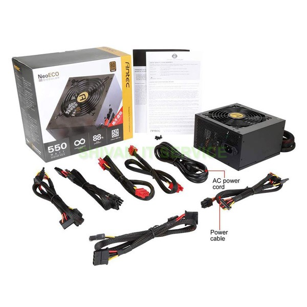 Antec NE550M Modular 550 Watt SMPS Power Supply