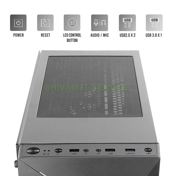 antec nx300 argb gaming cabinet 3