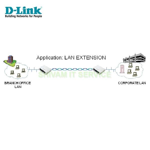 Dlink DSL-1504G G.SHDSL 4port LAN Extender