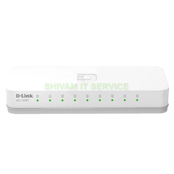 Dlink 8-port Ethernet Switch