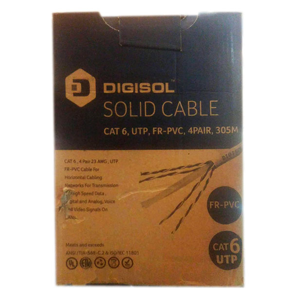 Digisol Cat 6 Cable 305 Mtr