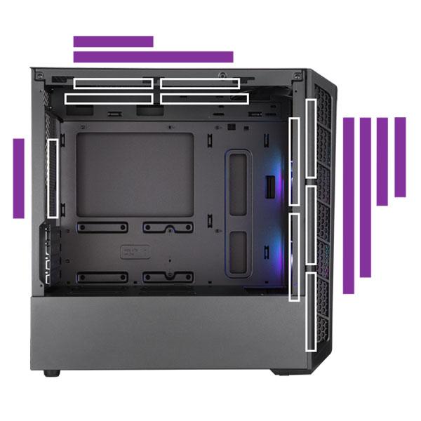 cooler master masterbox mb311l argb cabinet 5
