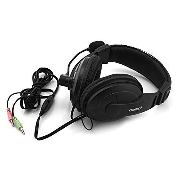 frontech hf 3442 wired headphone 3
