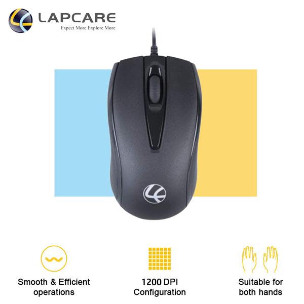 lapcare l70 plus usb optical mouse 3