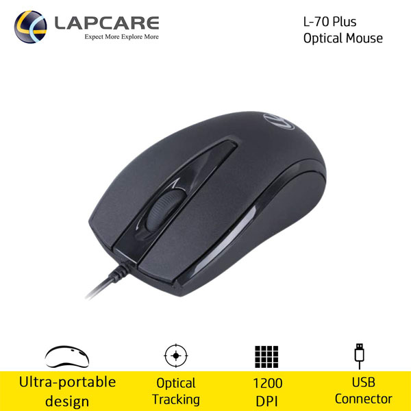 lapcare l70 plus usb optical mouse 4