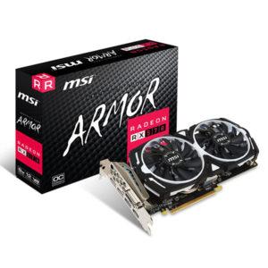 MSI Radeon RX 570 Armor 8G OC GDDR5 Graphic Card
