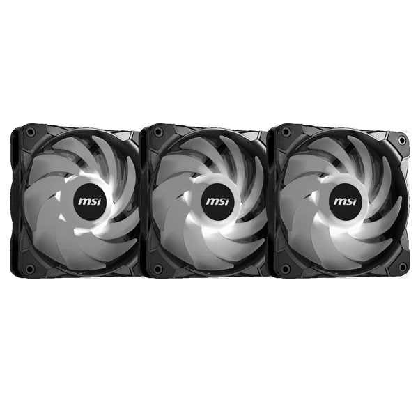msi rgb cooling fan 12cm mag force 3
