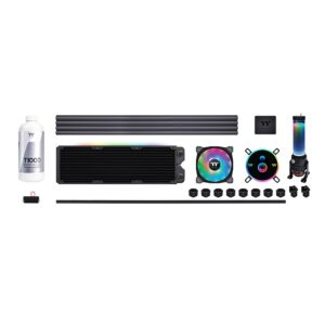 Thermaltake Pacific CL360 Max D5 Hard Tube Liquid Cooling Kit CL-W259-CU00SW-A