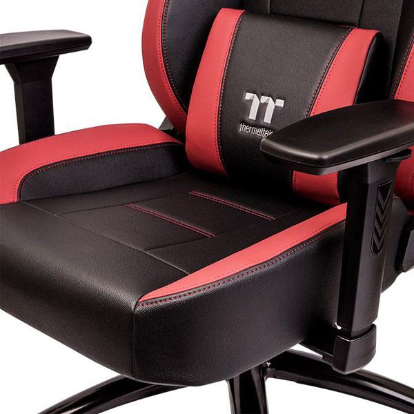 thermaltake u comfort black red gaming chair 5