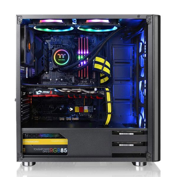 thermaltake v200 rgb gaming cabinet 3