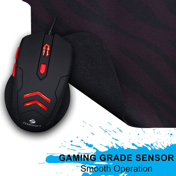 zebronics feather gaming mouse 2