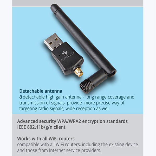 zebronics usb wifi adapter 2