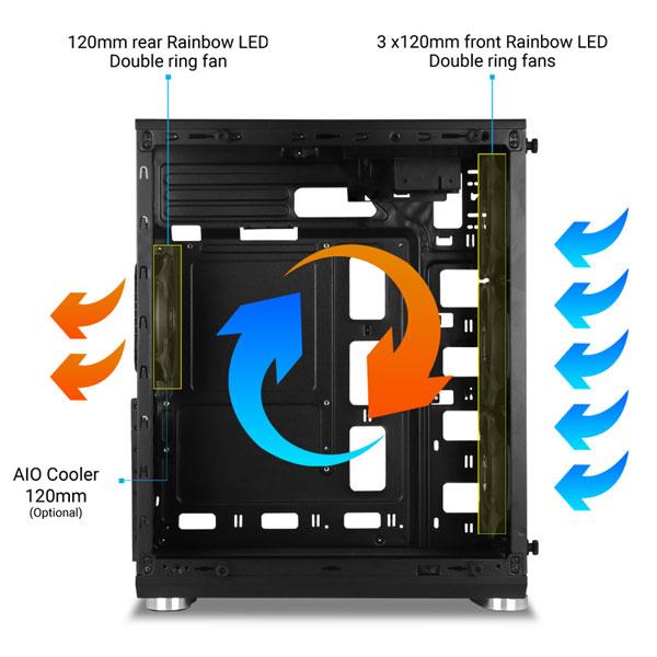 zebronics zeb cronus gaming cabinet 6