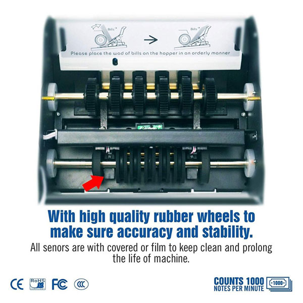 gobbler gb 3300 mix note counting machine 4