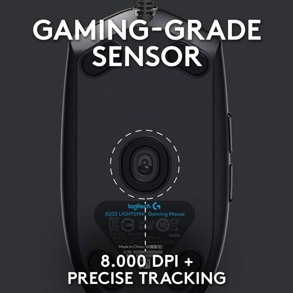 logitech g102 light sync gaming mouse 6