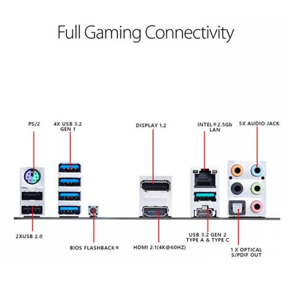 ASUS TUF Gaming B550M PLUS Motherboard