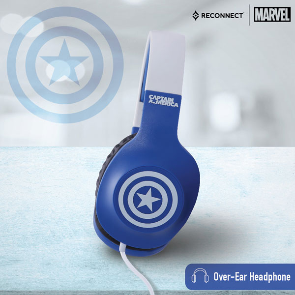 Reconnect 101 Marvel Captain America Headphone