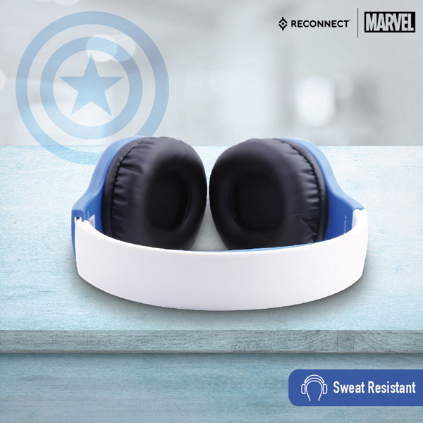 reconnect 101 marvel captain america wired headphone 4