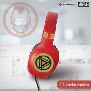 Reconnect 101 Marvel Iron Man Headphone