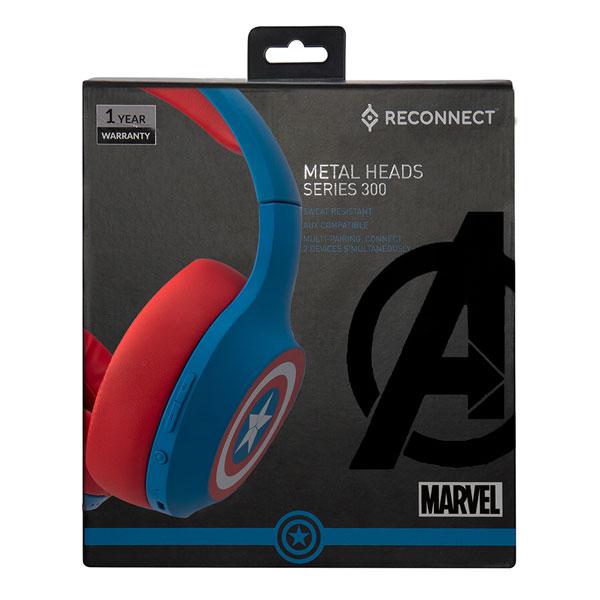 reconnect 303 marvel captain america wireless headphone 5