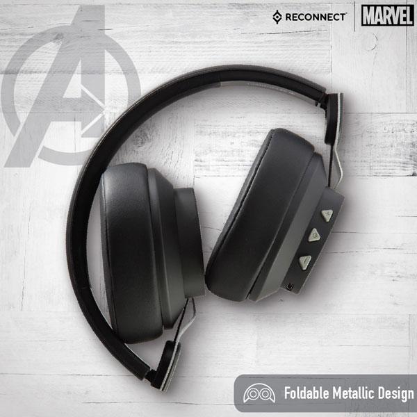 reconnect 501 marvel avengers wireless headphone 2