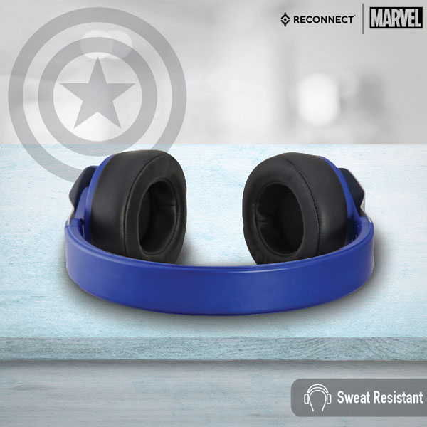 reconnect 501 marvel captain america wireless headphone 4