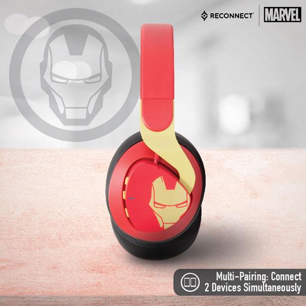 Reconnect 501 Marvel Iron Man Wireless Headphone