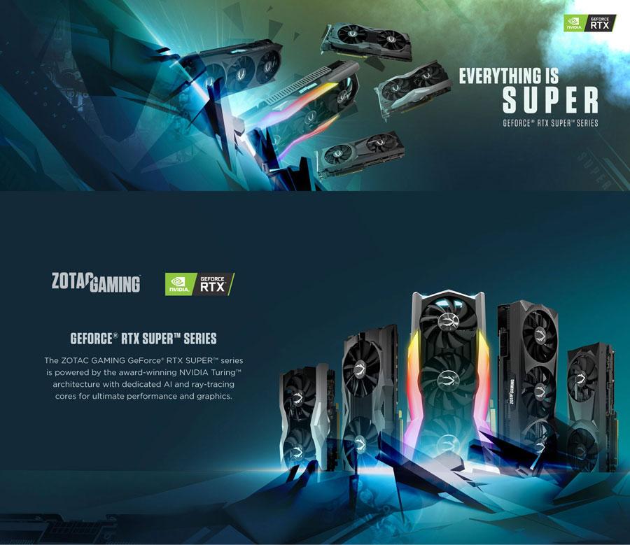 Zotac RTX 2060 Super AMP Extreme 8GB GDDR6 ZT-T20610B-10P
