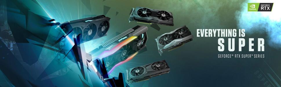 ZOTAC Gaming GeForce RTX 2060 Super Mini 8GB GDDR6 Graphics Card ZT-T20610E-10M