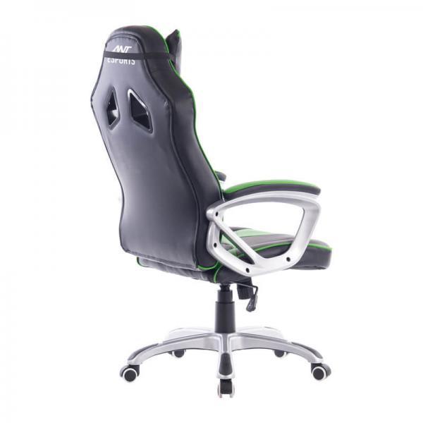 ant esports 8077 gaming chair black green 2