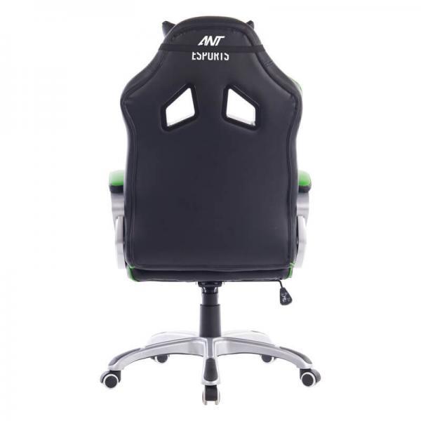 ant esports 8077 gaming chair black green 3