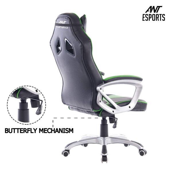 ant esports 8077 gaming chair black green 6