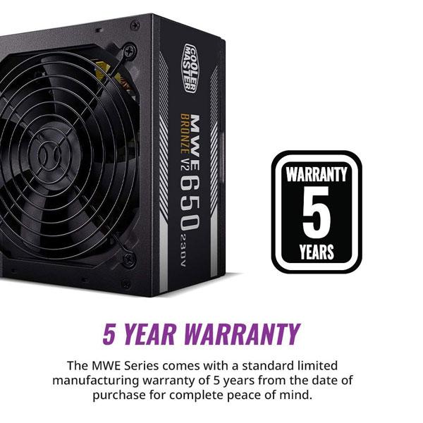 cooler master mwe 650w bronze v2 smps 3