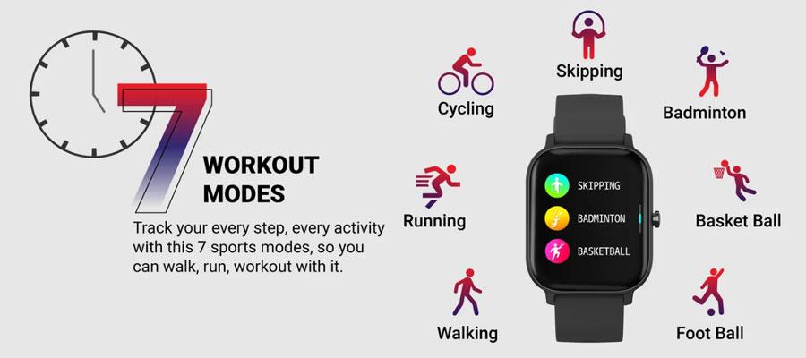 fire boltt full touch smart watch black 15