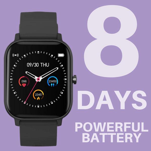 fire boltt full touch smart watch black 9
