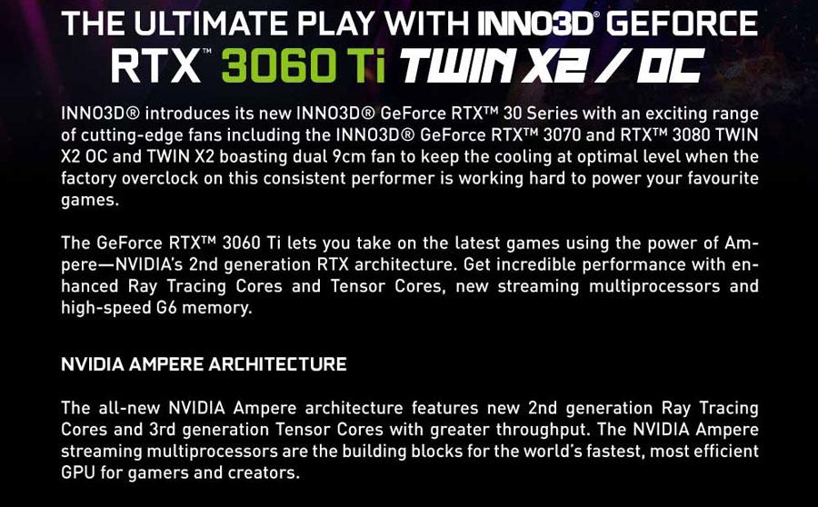 inno3d rtx 3060 ti twin x2 oc 8gb 3