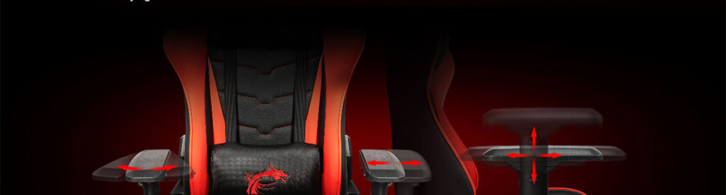 msi mag ch120 gaming chair black red 13