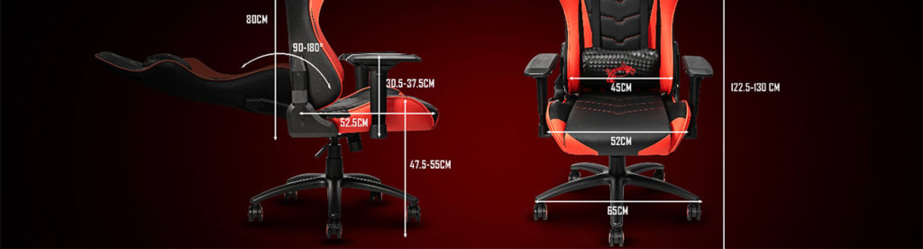 msi mag ch120 gaming chair black red 24