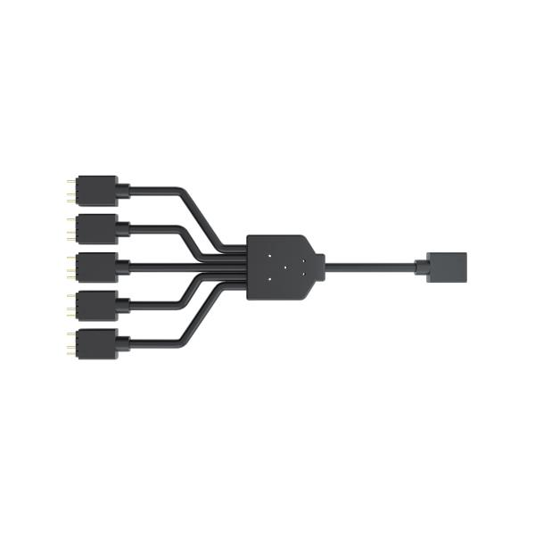 Cooler Master 1-To-5 ARGB Splitter Cable